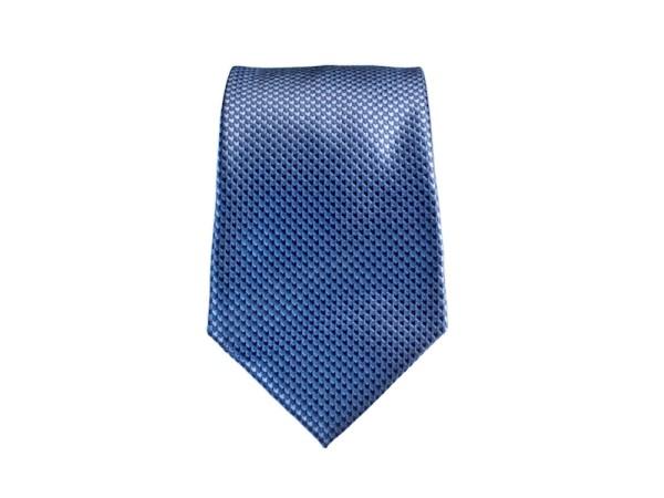 Krawatte blau mit feinem Muster