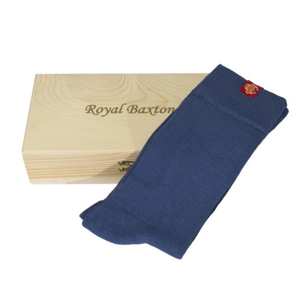 Herren-Socken hellblau Royal Baxton