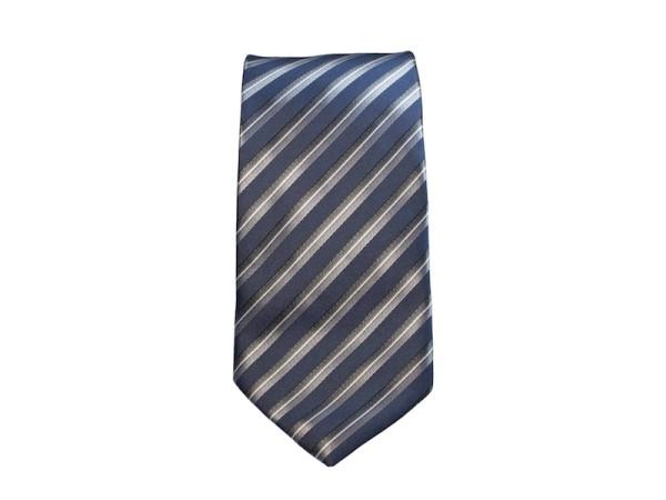 krawatte blau gestreift