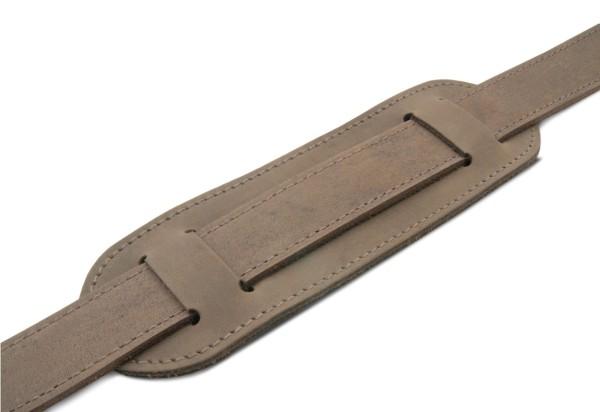 Polster für Schulterriemen aus Leder in old antik