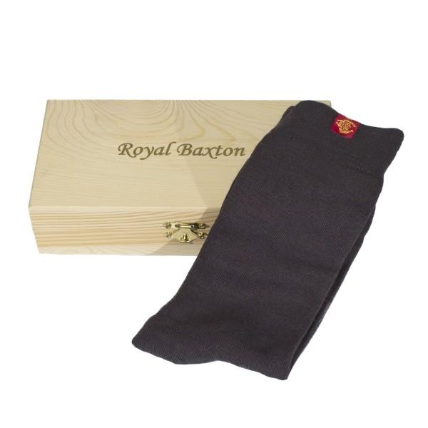Herren-Socken coffee Royal Baxton