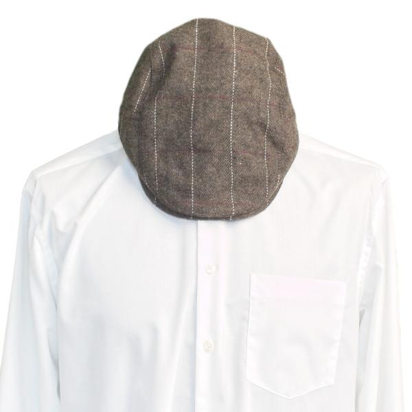 Flatcap braun für Männer