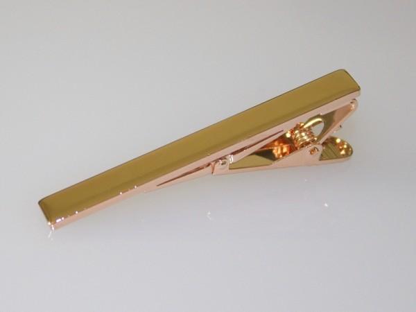Krawattennadel rosegold
