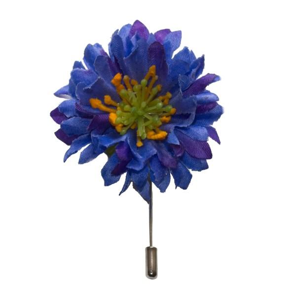 Ansteckblume Kornblume für Männer
