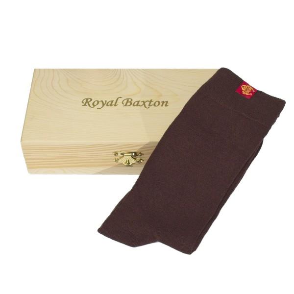 Royal Baxton Herren-Socken braun