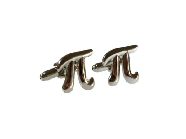 Manschettenknöpfe Pi Symbol