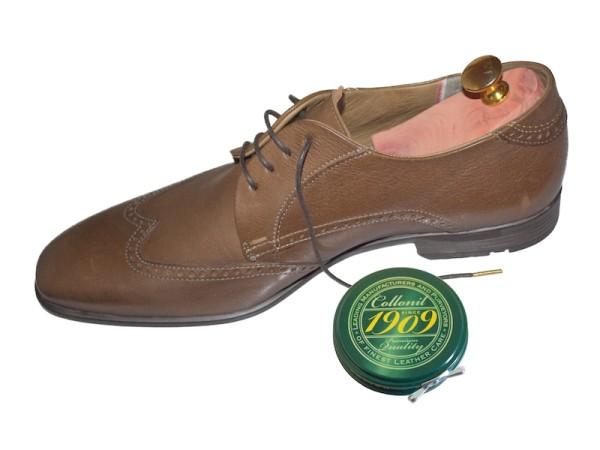 Schuhwachs hellbraun