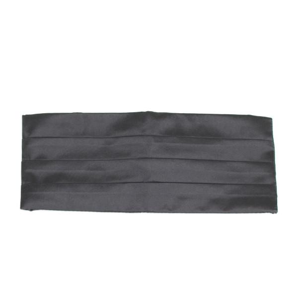 Kummerbund schwarz Seide