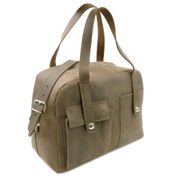 Reisetasche aus Leder Rio Grande in old-antik