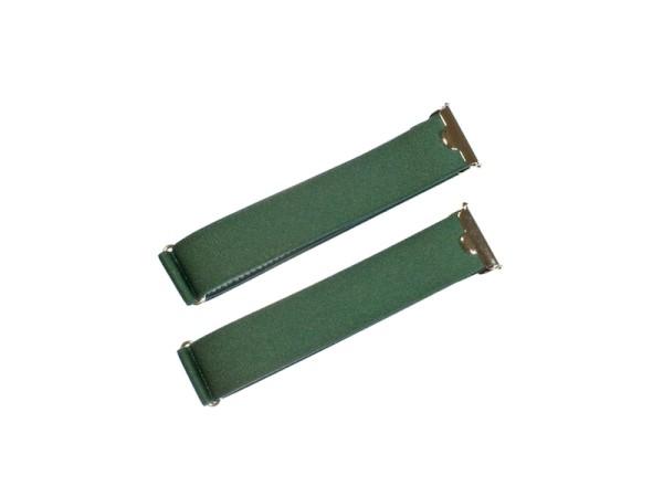 Ärmelhalter grün aus feinem Band