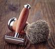 99766519-_Shaving_razor_and_brush_baibaz