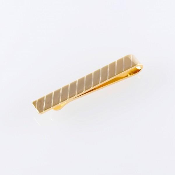 Krawattenklammer gold