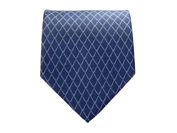 Krawatte blau mit Struktur