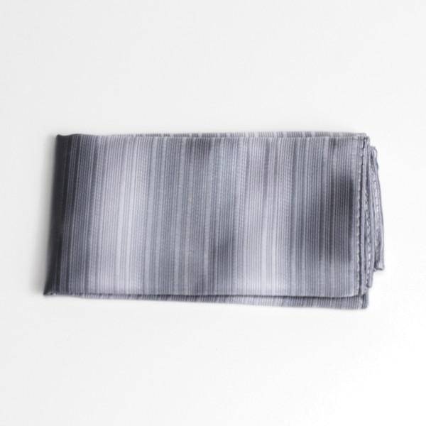 Einstecktuch silber-grau