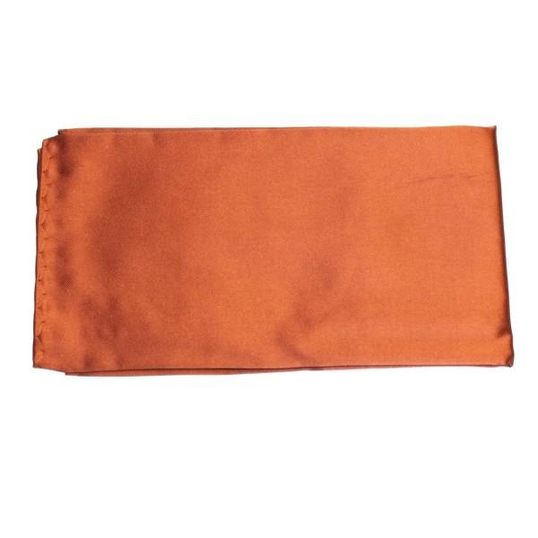 Seiden-Einstecktuch orange