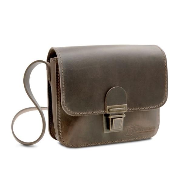 Herren-Handtasche aus Leder London ranger-braun