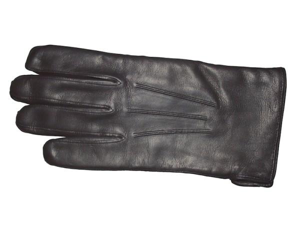 Handschuhe aus Leder für Herren schwarz gefüttert Royal Baxton