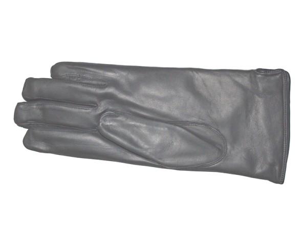 Lederhandschuhe grau gefüttert