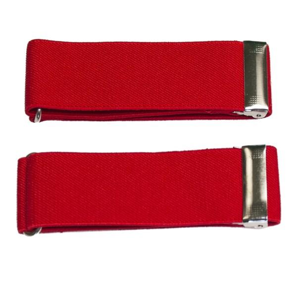 Breite Ärmelhalter in rot