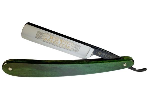 Rasiermesser Dovo black-star grün