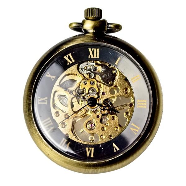 Taschenuhr gold im Vintage-Style