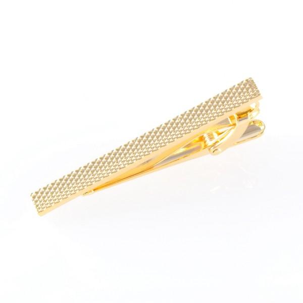 krawattennadel klassisch gold
