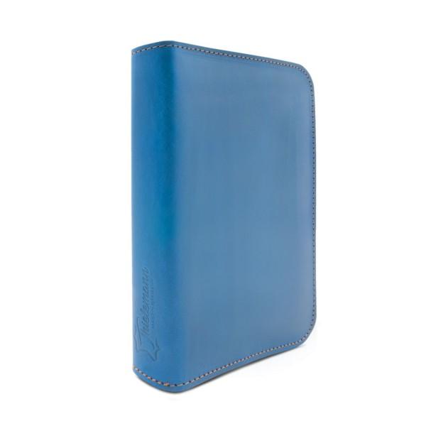 Füller-Etui Leder blau Toronto 1