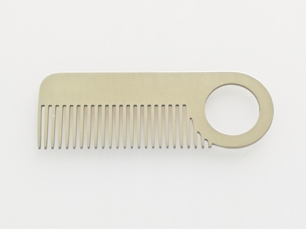 Bartkamm aus Metall