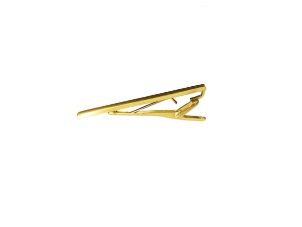 Krawattennadel gold matt