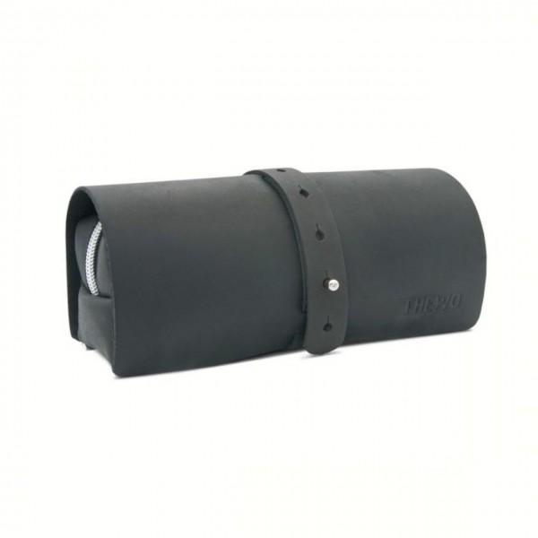 Hochwertiges Füller-Etui aus Leder für Männer Tamea in schwarz antik