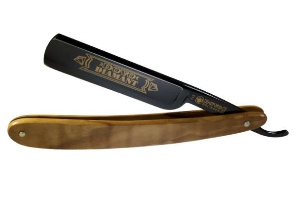 Rasiermesser Dovo Diamant mit schwarzer Klinge